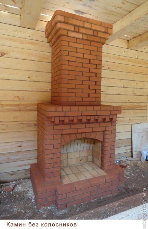 Как построить камин своими руками - пошаговая инструкция! 76